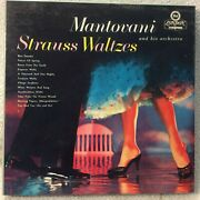 Mantovani And His Orchestra Strauss Waltzes 4 Track 7 1/2 Ips Reel To Reel Tape
