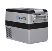 New 44-quarts Camping Portable Electric Car Cooler Travel Beverage And Food Cooler