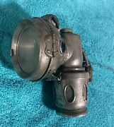 Nice Vintage Chieftain Carbide Motorcycle Lamp - Made In England - Early 1910's