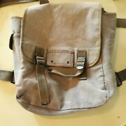 Canvas Military Backpack Olive Green 100 Cotton Marine Army Surplus Style Bag