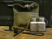91/30 Mosin-nagant Rifle Cleaning Kit. 6 Tools, Pouch And Polish Oil Bottle