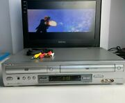 Sony Slv-d300p Combo Video Cassette Recorder Dvd Player - No Remote - Tested