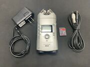 Zoom H4 Handy Recorder W/ac Adapter, Rca Cables And 8gb Card