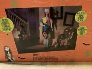 Sold Out 6and039 Life Size Animated Sally From Nightmare Before Christmas