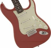 Fender Made In Japan Traditional Ii 60s Stratocaster Rosewood Fiesta Red