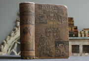Rare Antique Old Book Africa 1890 Illustrated Cannibals Execution + More Scarce