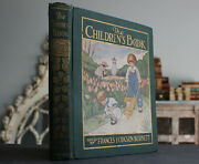 Rare Antique Old Book Fairy Tales And Stories 1915 Illustrated Mermaid + More