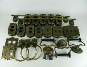 Vtg Amerock Carriage House Switch Plates Outlet Covers Towel Rings Bars 66pc Set