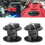 2pcs Fuel Can Mount Oil Mounting Lock Pack For 20l Fuel Tank Cans Jeep Atv Jk Us