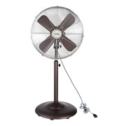 Better Homes And Gardens Retro Table Fan, Orb, 16-inches