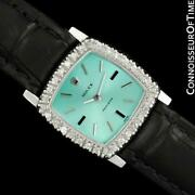 1973 Rolex Ladies Vintage Stainless Steel And Diamond Watch - Mint With Warranty