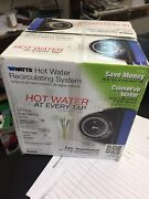 Watts Hot Water Recirculating System With Built-in Timer-water Pump New