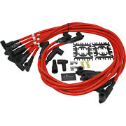 Titan - Sb Chevy Direct Fit Spark Plug Wires - Premium 10mm - Over The Front