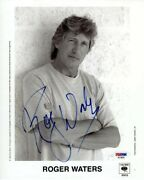 Roger Waters Pink Floyd Autographed Signed 8x10 Photo Certified Psa/dna Coa