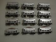 12 Ho Roundhouse Rio Grande Ore Cars With Custom Upgrades