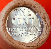 Indian Tails / Steel Tails Wheat Obw Original Bank Wrap Lincoln Wheat Penny Roll