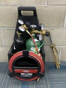 Harris Port-a-torch Welding And Cutting Torch Outfit With Cylinders Azp004312