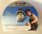 Polar F4 Black Fitness Heart Rate Monitor Wrist Watch T31 Chest Strap New Sealed