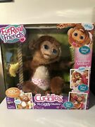 Furreal Friends Cuddles My Giggly Monkey Hasbro New Large Interactive