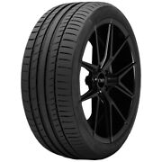 4-245/35r21 Continental Sport Contact 5 96w Xl Tires
