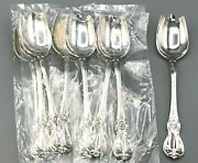Old Master By Towle Sterling Silver Set Of 8 Ice Cream Spoon/fork 5 5/8