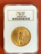 1924 20 Gold Liberty Double Eagle Coin Ngc Ms62