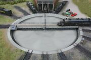 Walthers 933-2859 Ho Motorized 130and039 Turntable Dc/dcc Assembled