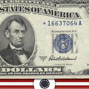 1953-a 5 Silver Certificate Star Replacement Fr 1656 16637064a-hsz