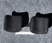 New Permobil Curved Calf Pads 7andrdquo X 7andrdquo With Mesh Covers And Mounting Hardware.