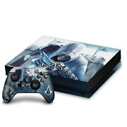 Official Assassin's Creed Key Art Vinyl Sticker Skin Decal For Xbox One X Bundle