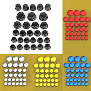 Set 30 Motorcycle Engine Water Pump Body Screw Nut Bolts Cap Covers Kit 5 Sizes