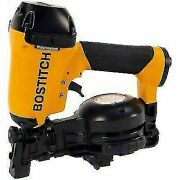 Bostitch Pneumatic Rn46-1 3/4 To 1-3/4 15 Deg. Coil Roofing Nailer New