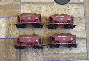 Walthers Four Great Northern Railway Ore Cars W/loads Different Numbers Ho Gnry