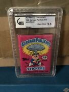 Gpk Series 1 Pack Unopened And Graded 9.5 Graded Single Pack By Ga