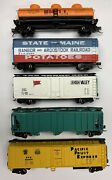N Scale Mixed Freight Car Lot With Knuckle Couplers. Lot 23152
