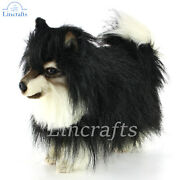 Hansa Pomeranian Standing 8043 Plush Soft Toy Sold By Lincrafts Established 1993