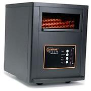 Comfort Deluxe With Copper Ptc Infrared Space Heater With Remote 1500 Watt
