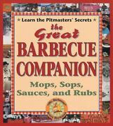 The Great Barbecue Companion Mops Sops Sauces And Rubs