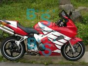 Red Glossy Abs Fairing With Tank Cover Fit Honda Vfr800 2002-2012 23 A7