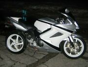 White Glossy Abs Fairing With Tank Cover Fit Honda Vfr800 2002-2012 33 A4