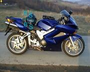 Blue Glossy Abs Fairing With Tank Cover Fit Honda Vfr800 2002-2012 31 A6