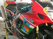 Red Decals Gsxr1000 Fairing + Tank Cover Kit Fit Gsx-r1000 2003-2004 89 A5