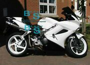White Glossy Abs Fairing With Tank Cover Fit Honda Vfr800 2002-2012 37 A7