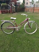 Fresh Fry 1960s Jc Higgins Sears Space Liner Womanand039s Bicycle Radio Light Tank