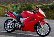 Red Glossy Abs Fairing With Tank Cover Fit Honda Vfr800 2002-2012 38 A6