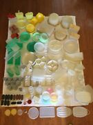 Vintage Tupperware Lot 183 Pcs Canister Containers Bowl Colander Pie Cake Takers