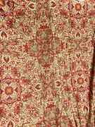 Discontinued Polo Red Gold Full/queen Duvet Cover 100 Cotton Italy