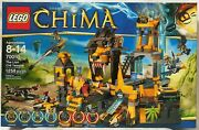 New Lego Legends Of Chima The Lion Chi Temple 70010 - In Factory Sealed Box