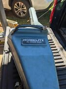 Rare Homelite Xl 101 Chainsaw And Case Collectible Vintage Logging Tool Saw Xl-101