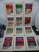 Lot Of 12 Ti99/4a Cartridges In Box Many Games Wumpus Invaders Zero Zap